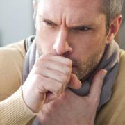Man Coughing